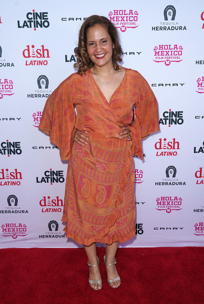 Writer/director Anike Tourse attends The HOLA Mexico Film Festival presented by DishLATINO - 'America: I Too' and 'Eres Mi Pasion' Premieres at Cinepolis Pico Rivera on June 6, 2018 in Pico Rivera, California