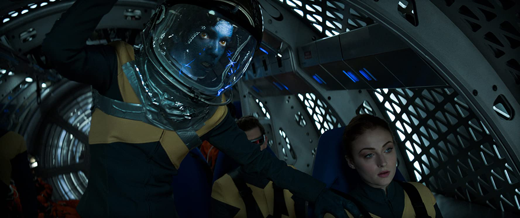 Kodi Smit-McPhee and Sophie Turner in Dark Phoenix (2019)