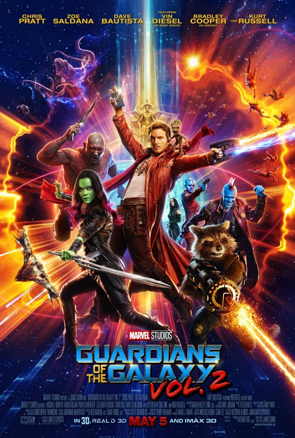 Guardians of the Galaxy Vol. 2 2017 IMAX Hindi Dual Audio 500MB BluRay ESubs Download