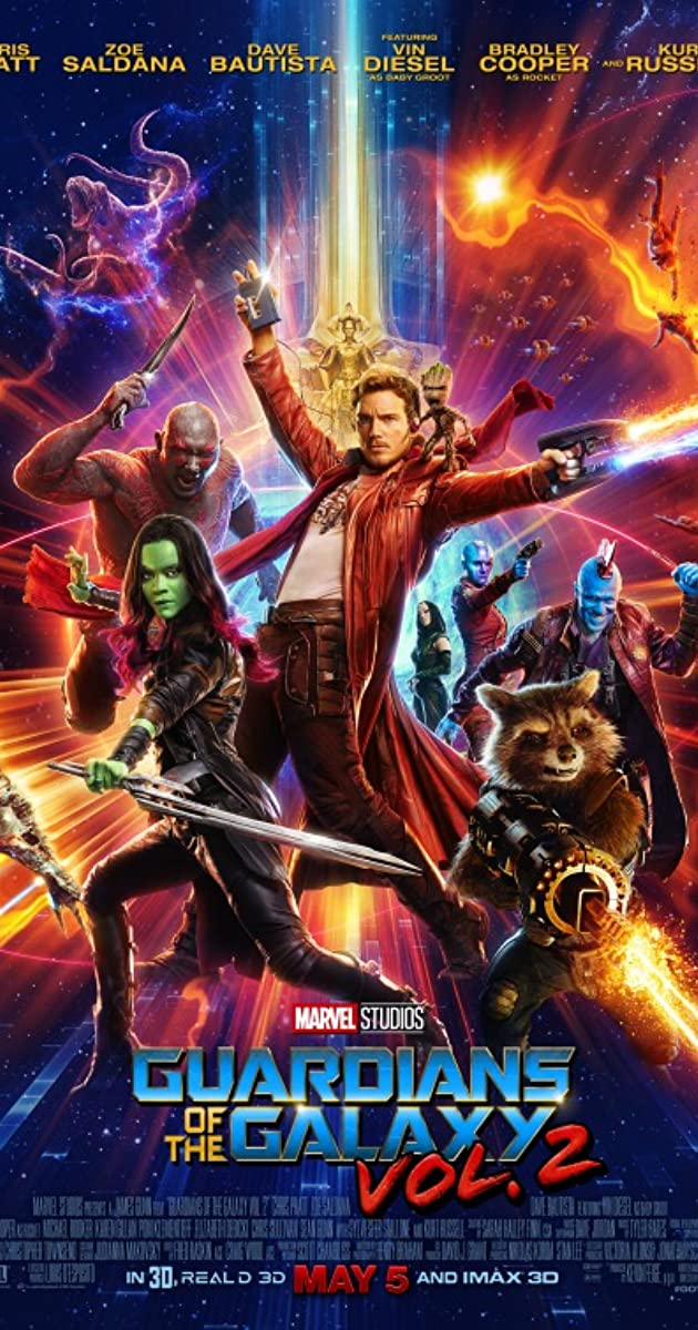 Guardians of the Galaxy Vol. 2 2017 IMAX Hindi Dubbed 720p BluRay ESubs 935MB Download