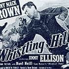 Johnny Mack Brown, James Ellison, Pierce Lyden, and Noel Neill in Whistling Hills (1951)