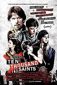 Ethan Hawke, Emile Hirsch, Emily Mortimer, Asa Butterfield, and Hailee Steinfeld in 10,000 Saints (2015)