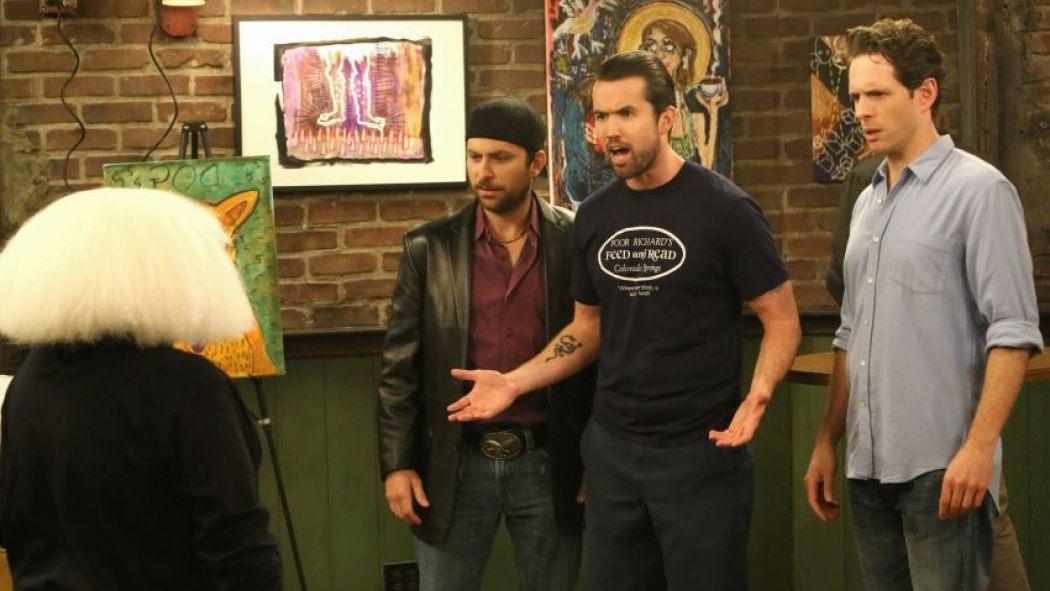 Danny DeVito, Charlie Day, Rob McElhenney, and Glenn Howerton in It's Always Sunny in Philadelphia (2005)