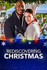 B.J. Britt and Jessica Lowndes in Rediscovering Christmas (2019)