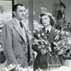 Myrna Loy and Lee Bowman in Third Finger, Left Hand (1940)