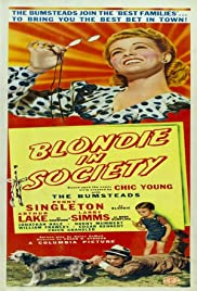 Blondie in Society Poster
