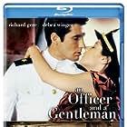 Richard Gere, Debra Winger, and Louis Gossett Jr. in An Officer and a Gentleman (1982)