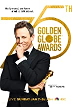 Primary image for The 75th Golden Globe Awards