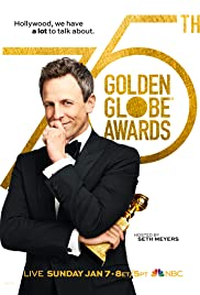 The 75th Golden Globe Awards Poster