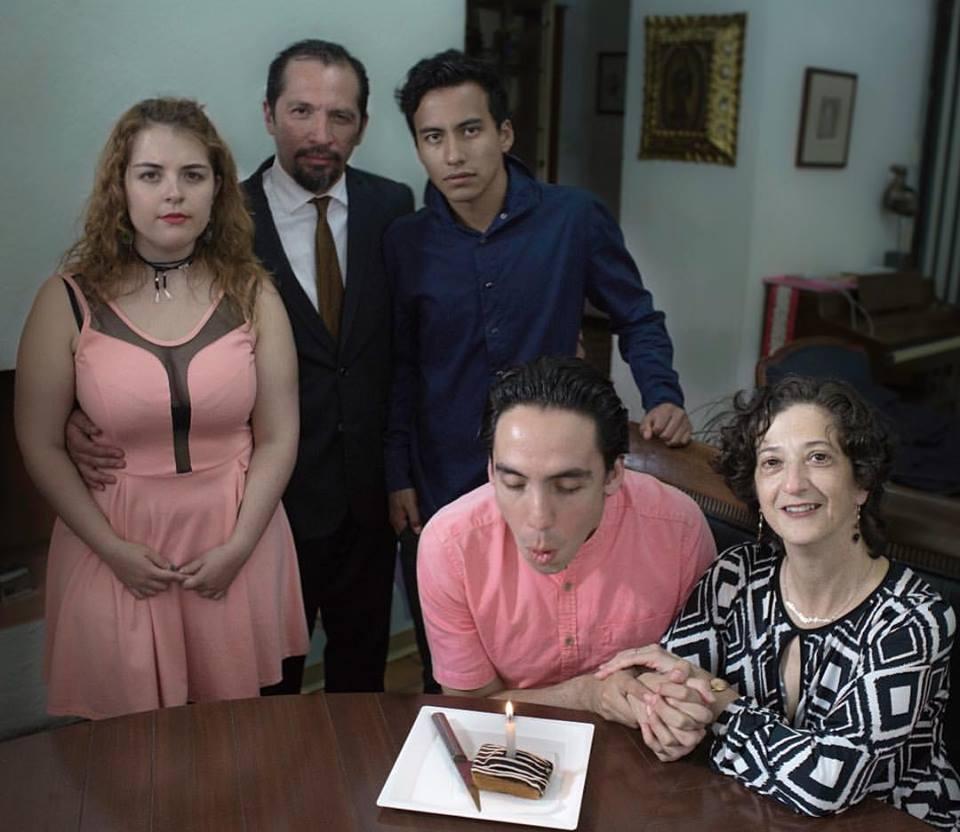 Emma Dib, Danae Reynaud, José Pescina, and Hugo Luna in Preludio a una Siesta (2018)