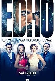 Sanem Çelik, Oktay Kaynarca, Ceren Benderlioglu, Ozan Akbaba, and Yunus Emre Yildirimer in Eskiya Dünyaya Hükümdar Olmaz (2015)