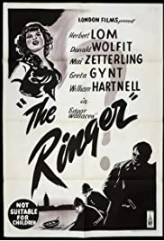 The Ringer(1952) Poster - Movie Forum, Cast, Reviews