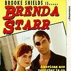 Brooke Shields and Timothy Dalton in Brenda Starr (1989)