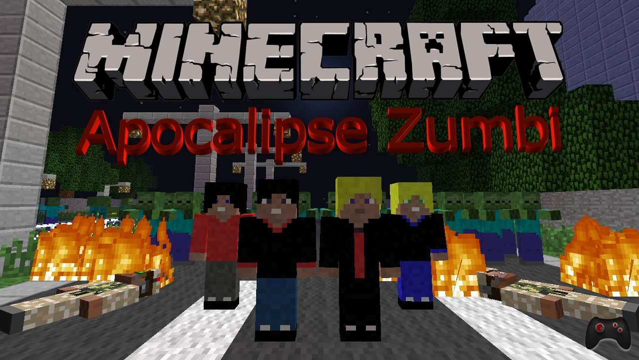 minecraft apocalipse zumbi 2014
