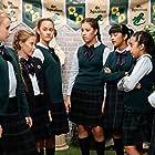Dia Narain, Lea Hoestlandt, Georgia Herrington, Artemis Asaadi, Sarah Qistina Lim, Emily Crestani, and Lilo Baier in Taking Sides (2019)