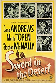 Sword in the Desert (1949) Poster - Movie Forum, Cast, Reviews