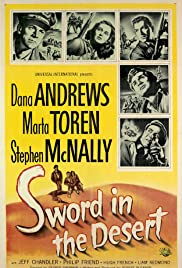 Sword in the Desert Poster