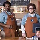 Craig Robinson and Seth Rogen in Zack and Miri Make a Porno (2008)