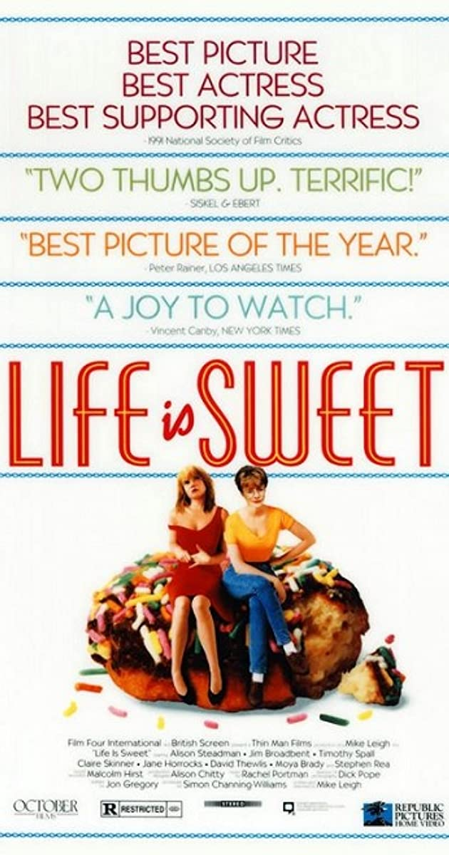 Subtitle of Life Is Sweet
