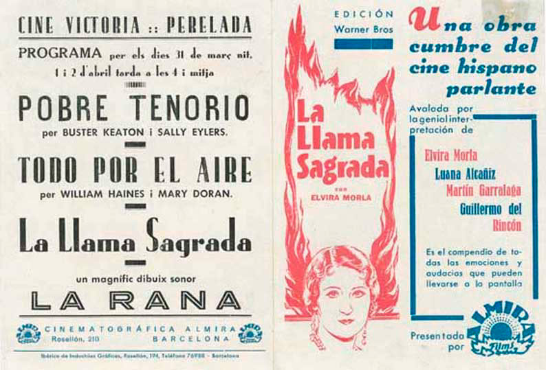 Elvira Morla in La llama sagrada (1931)