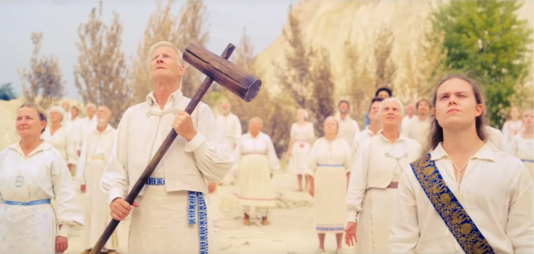 Lennart R. Svensson and Maximilian Slash Marton in Midsommar (2019)