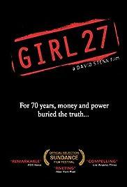 Girl 27 Poster