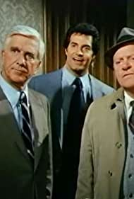 Leslie Nielsen, Peter Lupus, and Alan North in Police Squad! (1982)