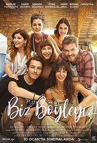 Hümeyra, Berrak Tüzünataç, Sebnem Bozoklu, Özge Özpirinçci, Engin Öztürk, Meric Aral, and Boran Kuzum in Biz Böyleyiz (2020)