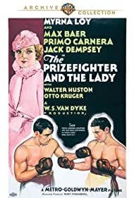 Myrna Loy, Max Baer, and Primo Carnera in The Prizefighter and the Lady (1933)