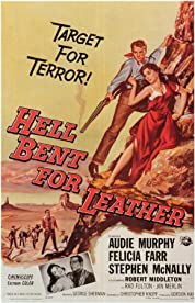 Hell Bent for Leather (1960) Poster