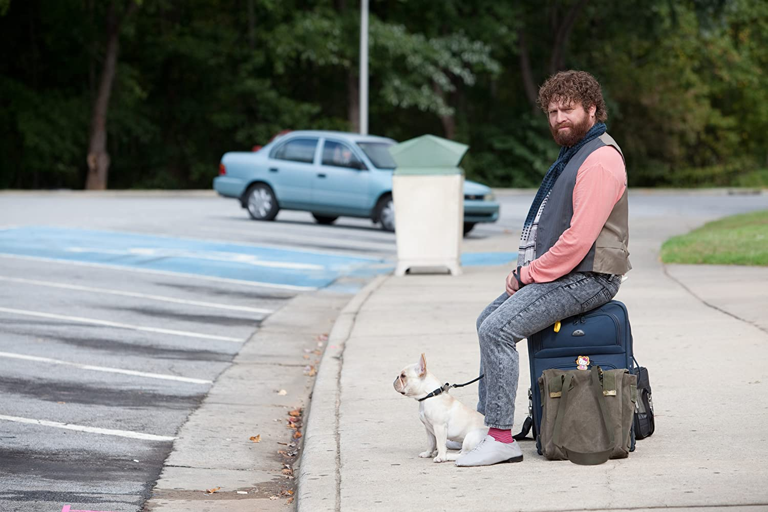 Zach Galifianakis in Due Date (2010)