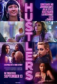 Jennifer Lopez, Keke Palmer, Constance Wu, Lili Reinhart, Lizzo, and Cardi B in Hustlers (2019)