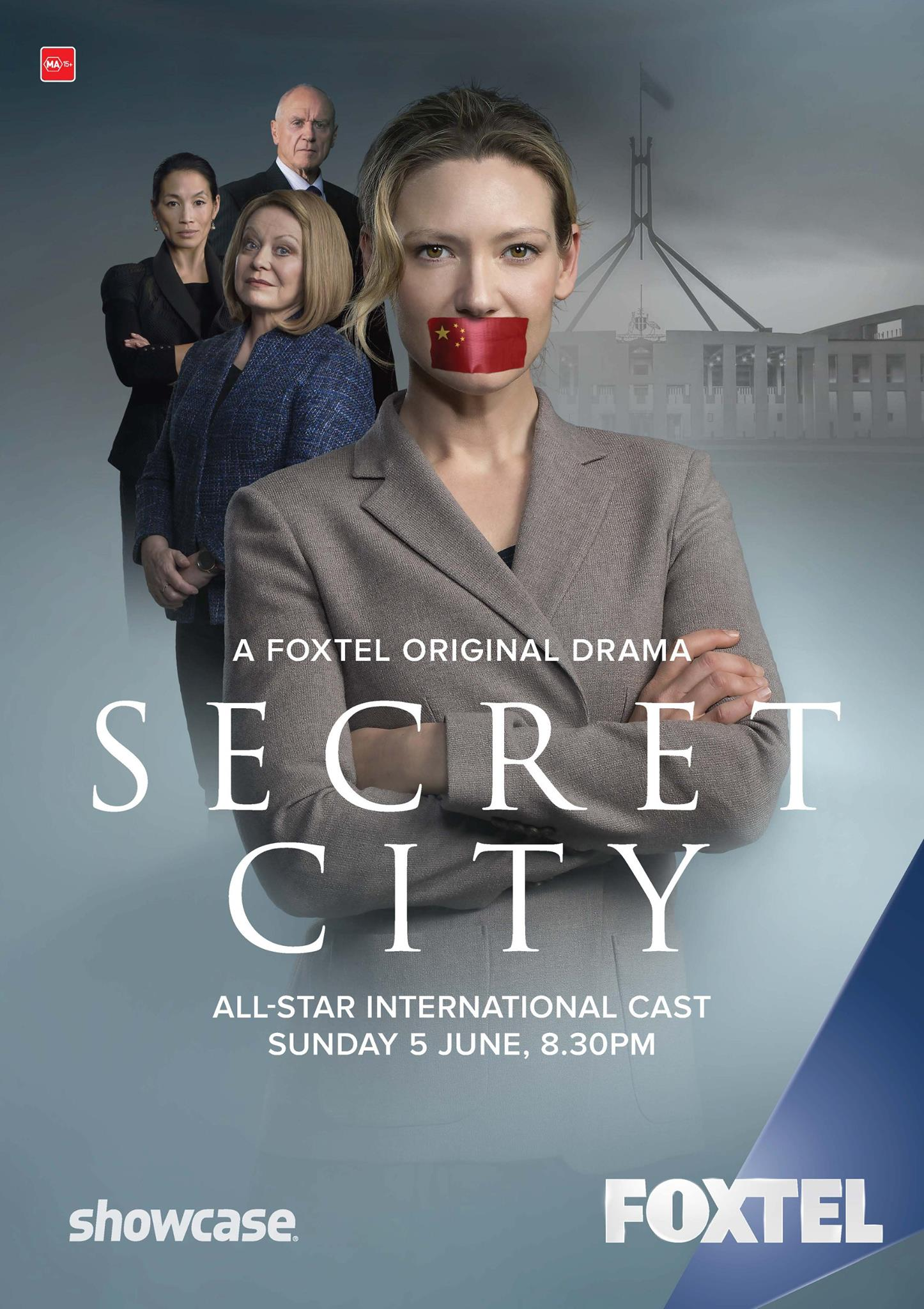 SECRET CITY (1 Sezonas)