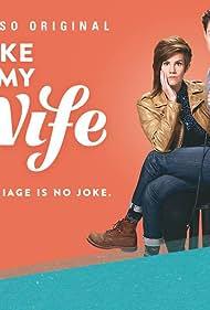 Cameron Esposito and Rhea Butcher in Take My Wife (2016)