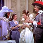 June Allyson, Angela Lansbury, Vincent Price, and Frank Morgan in The Three Musketeers (1948)