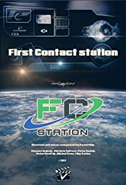 First Contact station Poster