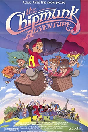 The Chipmunk Adventure Poster Image