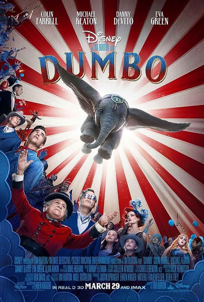 Download Dumbo (2019) BluRay 480p [400MB] | 720p [1GB] | 1080p [1.8GB] | Dual Audio {Hindi English}