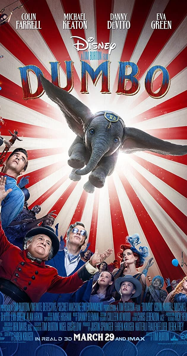 Dumbo (2019) [BluRay] [3D] [HSBS] [YTS.LT]