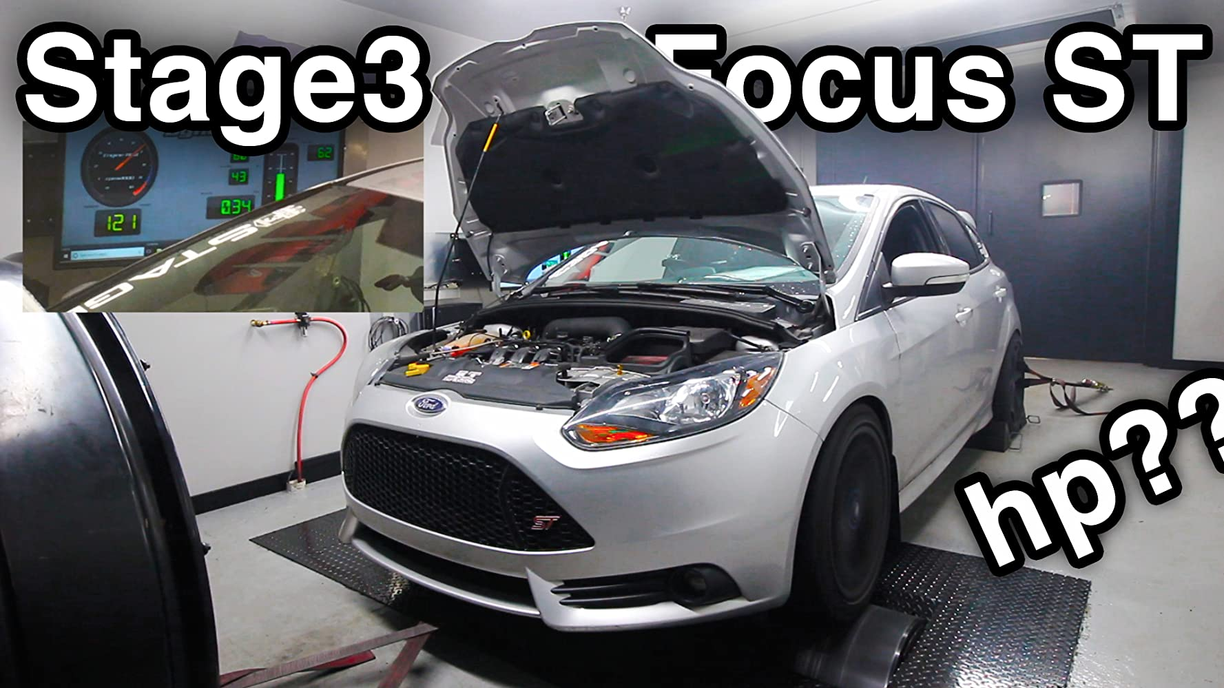 Stage3 Ford Focus ST Dyno Test - Dynamometer - How Much