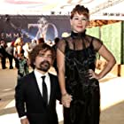 Peter Dinklage and Erica Schmidt at an event for The 70th Primetime Emmy Awards (2018)