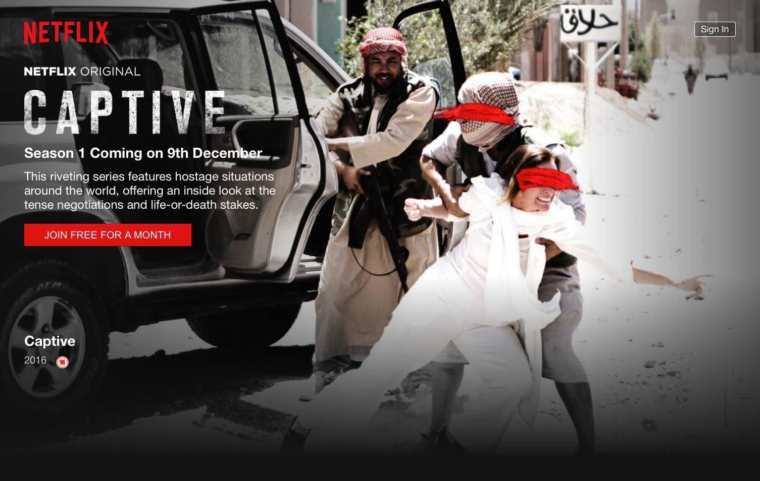 Netflix - Captive