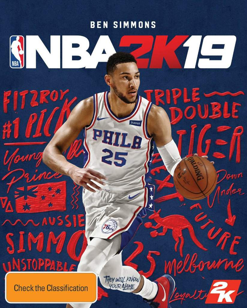 Ben Simmons in NBA 2k19 (2018)