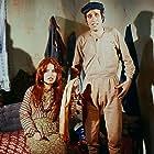 Kemal Sunal and Meral Zeren in Salak Milyoner (1974)