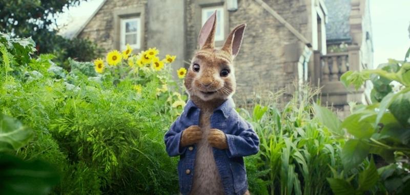 James Corden in Peter Rabbit (2018)