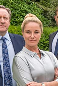 Neil Dudgeon, Tamzin Outhwaite, and Nick Hendrix in Midsomer Murders (1997)