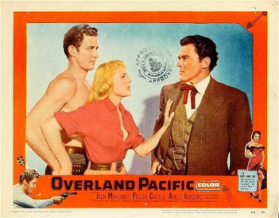 18+ Overland Pacific (Western 1954) English 720p SDRip 950MB Download