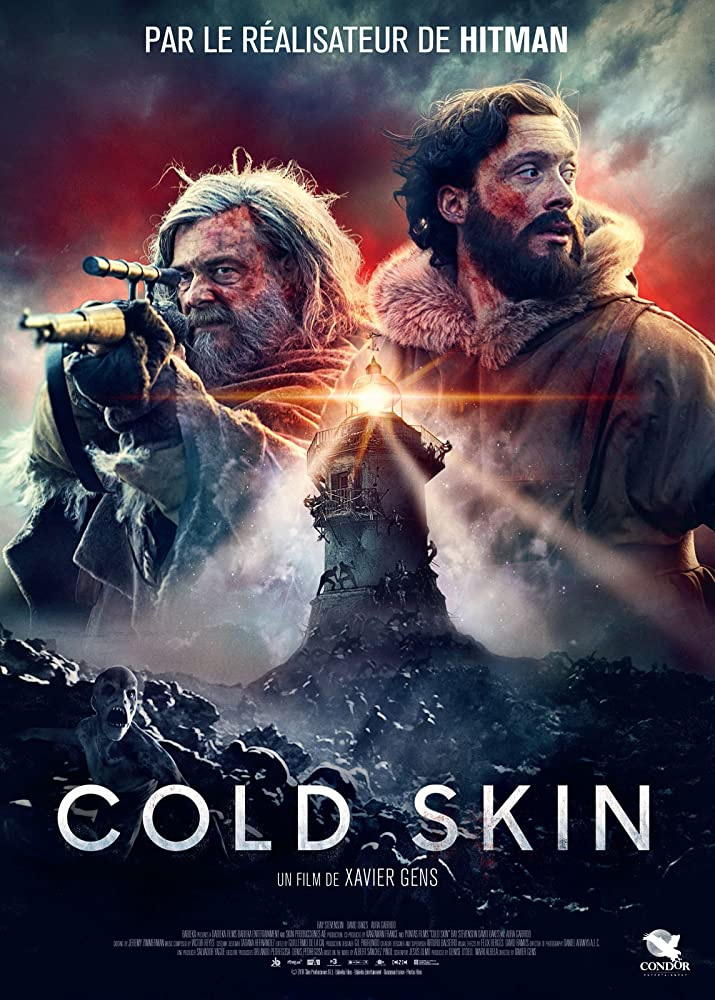 Cold Skin (2017) 720p HEVC 10Bit BluRay {Dual Audio} [Hindi + English] 850MB