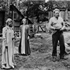 Betty Field, Arthur Kennedy, and Hope Lange in Peyton Place (1957)