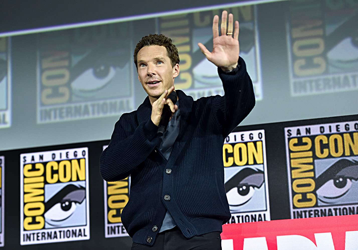 Benedict Cumberbatch at an event for Doctor Strange in the Multiverse of Madness (2021)